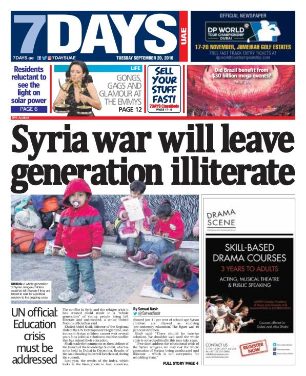 Syrian War Will Leave Generation Illiterate-page-001