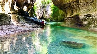 Martvili Canyon, Kutaisi, Georgia