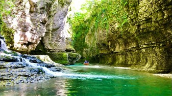 Martvili Canyon in Kutaisi, Georgia