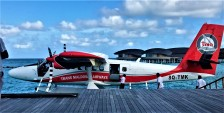 Seaplane at St. Regis, Maldives