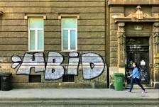 Graffiti in Zagreb, Croatia